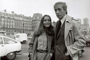 Yves Montand et Romy Schneider (1978)