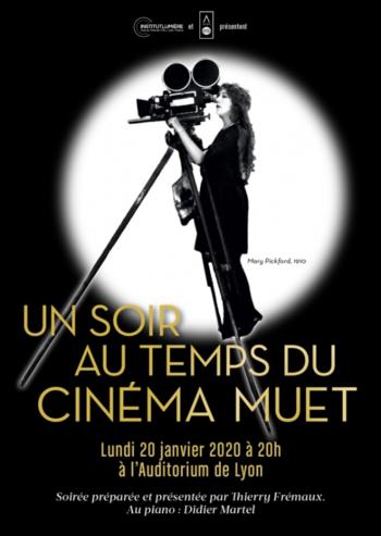 Un Soir Au Temps Du Cinema Muet