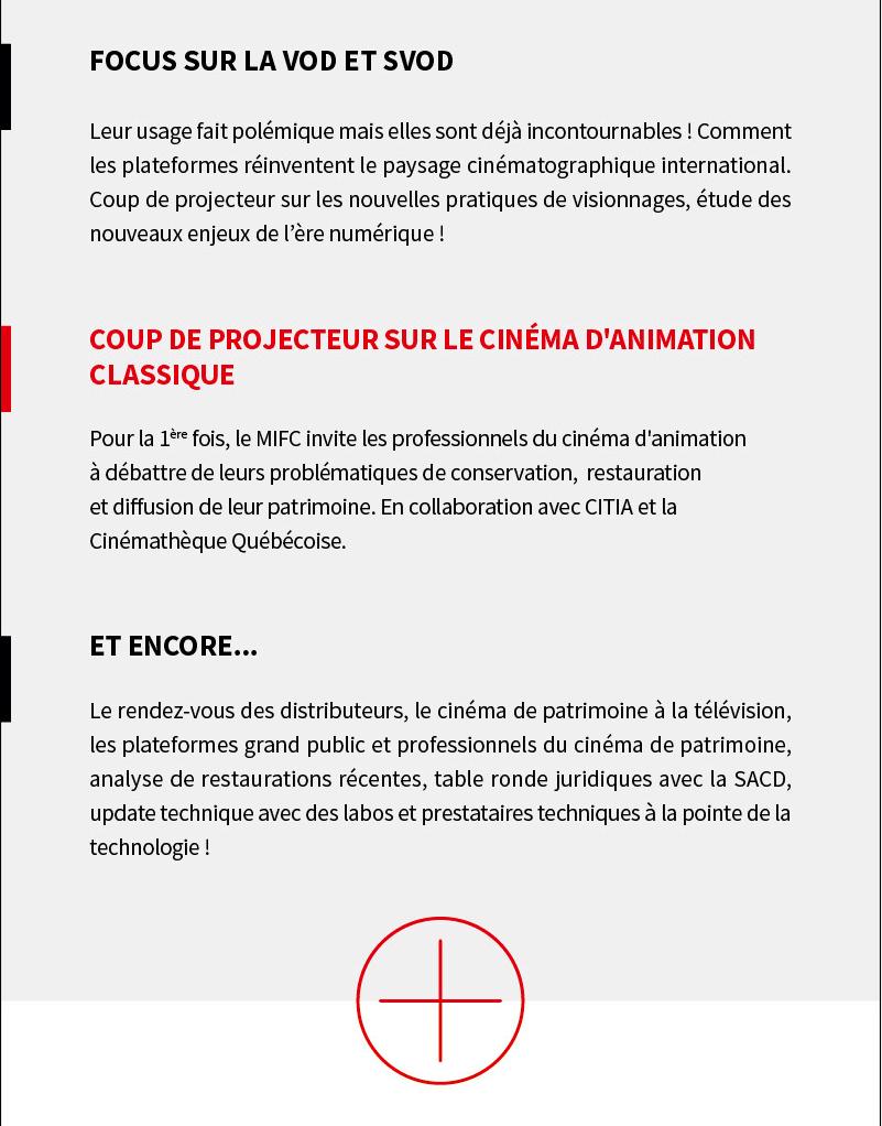 Marché International du Film Classique : programme et accréditation