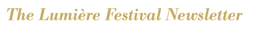 la lettre du festival