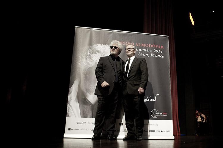 Pedro Almodóvar et Thierry Frémaux