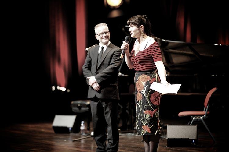 Thierry Frémaux et Juliette Binoche