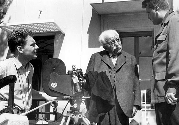 Auguste-et-Paviot-tournage-Lumiere-vers-1952