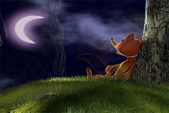 Il Etait Une Fois La Lune Et Le Renard