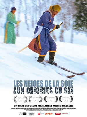 Les Neiges De La Soie Aux Origines Du Ski Affiche