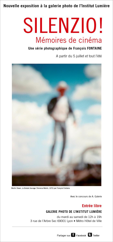 Silenzio ! Nouvelle exposition à la galerie photo de l'Institut Lumière
