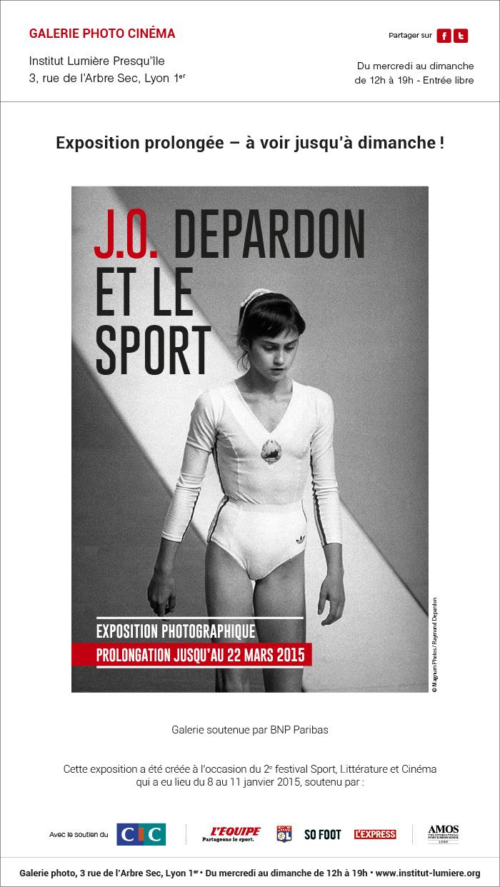 J.O. Depardon et le sport : Exposition prolongée