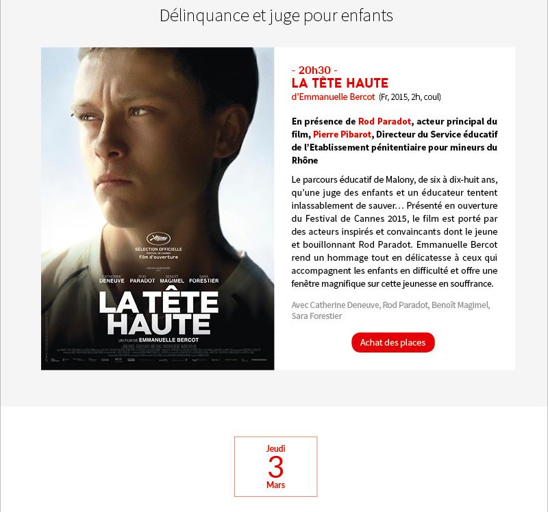 Rencontres droit justice cinema 2018