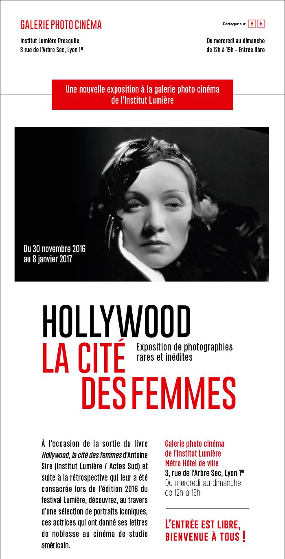 Nouvelle exposition : Hollywood, la cité des femmes