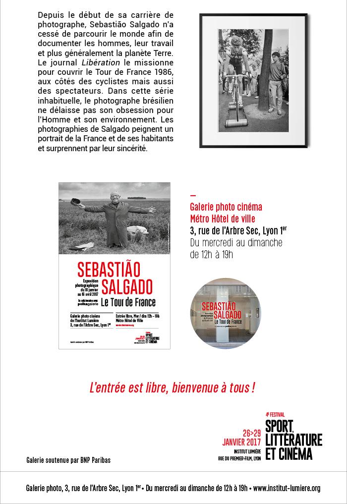 Ouverture de l'exposition Sebastiao Salgado - Le Tour de France
